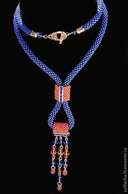 bead crochet  with slider