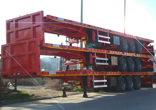 Flatbed semi trailers by Alura Trailer