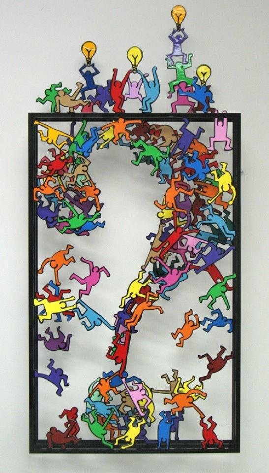 Out of the box artist David Kracov
