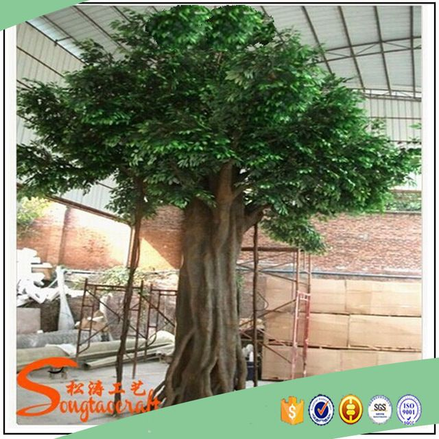 Source Large Outdoor Artificial Trees Life Size Big Shade Trees Factory Sale Cheap Artificial Oak Trees On M Aliba Artificial Trees Artificial Tree Shade Trees