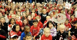 Falcons come to see White Oak Owls