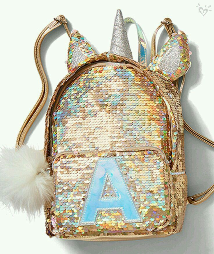 She loves unicorns! Unicorn backpack Justice store ce689e67cfbc5