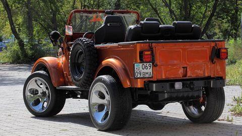 "ГАЗ 69 ""УДАРНИК"" 3.5L V6"