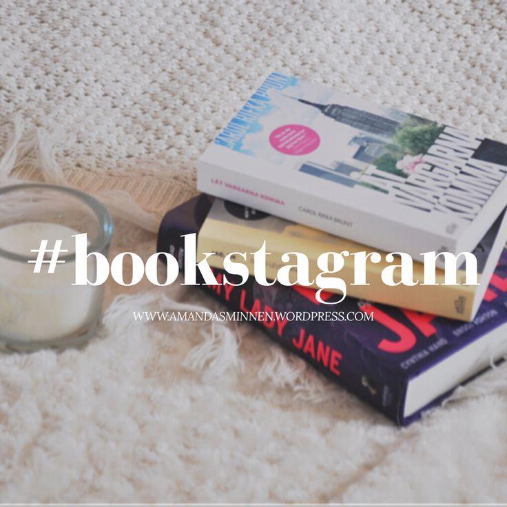 """Förut var jag väldigt tveksam till Bookstagram. (För dig som inte vet är """"Bookstagram"""" ett fenomen på appen Instagram där bokintresserade postar bilder på böcker och bokrelaterade saker…"""