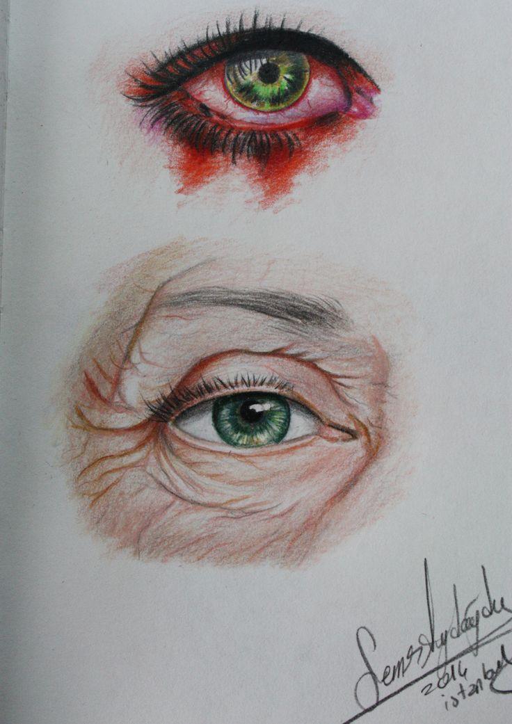 gözler,eyes drawing,red eyes