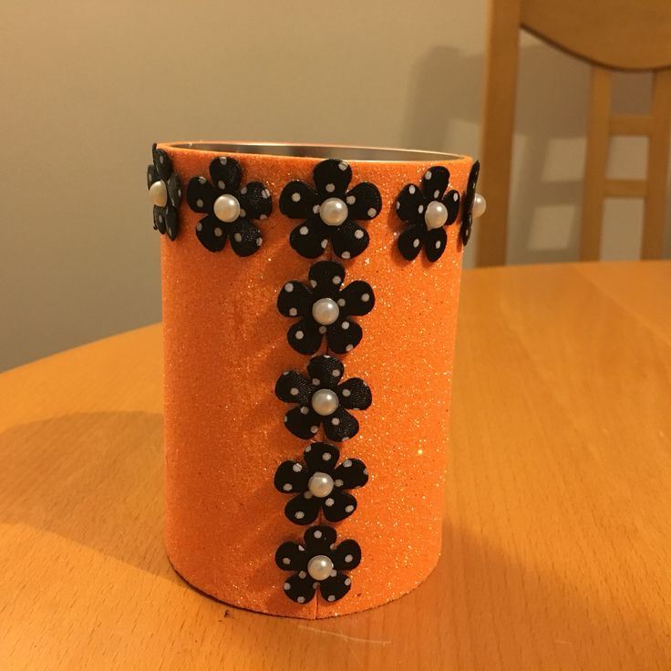 Up-cycled can made for my God-daughter Zara's Christmas (2015)