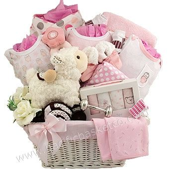 40 best baby gift baskets images on pinterest baby presents precious memories keepsake baby girl gift basket negle Image collections