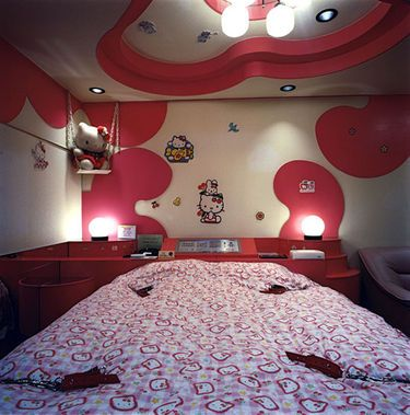 hello kitty furniture for teenagers. hello kitty love hotel bondage furniture for teenagers
