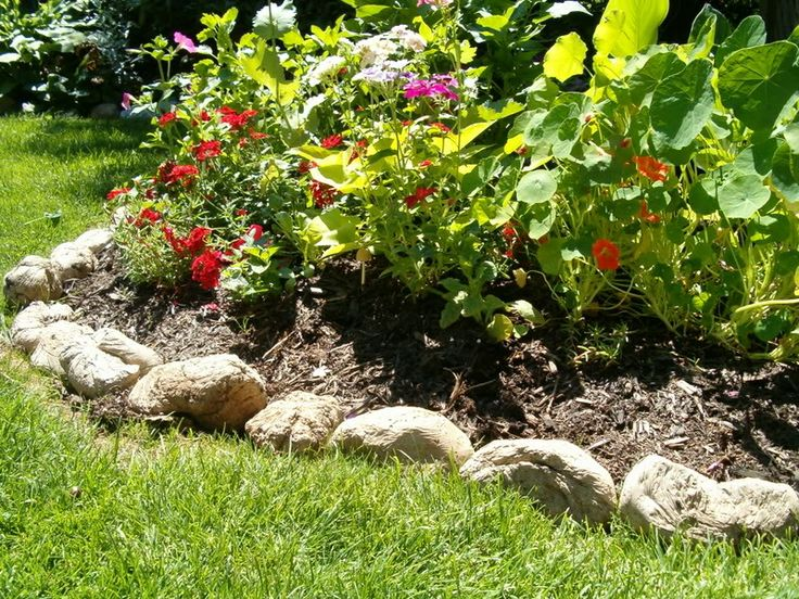 Exceptional Hypertufa Rocks To Line Your Flowerbeds. Lighter Than Finding, Loading And  Unloading Rocks.