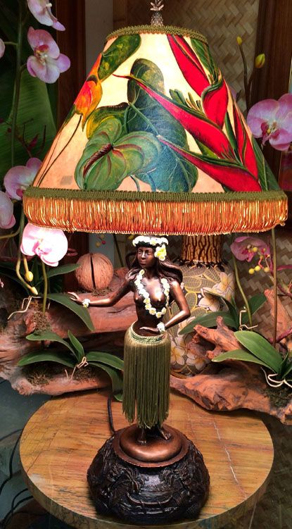 hula lamp  Something from the wayyyyyy back files that's too fun not to pin.  :)