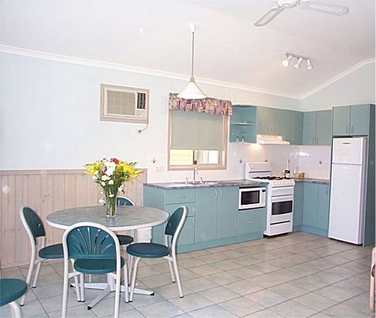 The Deluxe Spa kitchens at Moruya Heads Easts Dolphin Beach are looking nice.