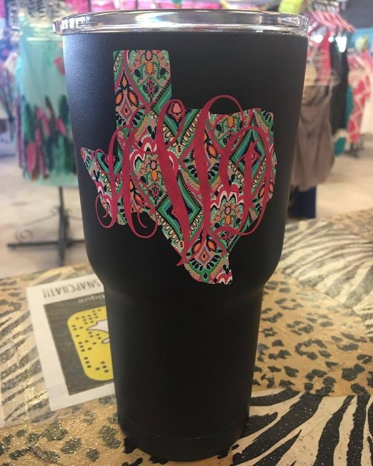 Best Yeti Cups Images On Pinterest Yeti Cup Yeti Decals And - Custom vinyl stickers for cups