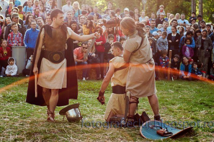Fotografie Cluj by BLucian: Transilvania History Days - zeii arenei se intrec in Parcul Central Cluj