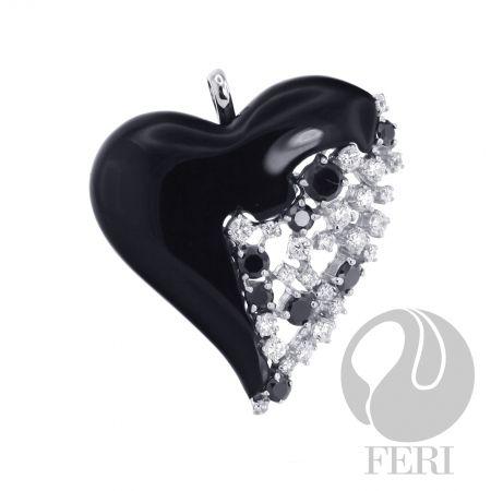 FERI My Onyx Heart - Pendant  #fashion #women #jewellery #feri