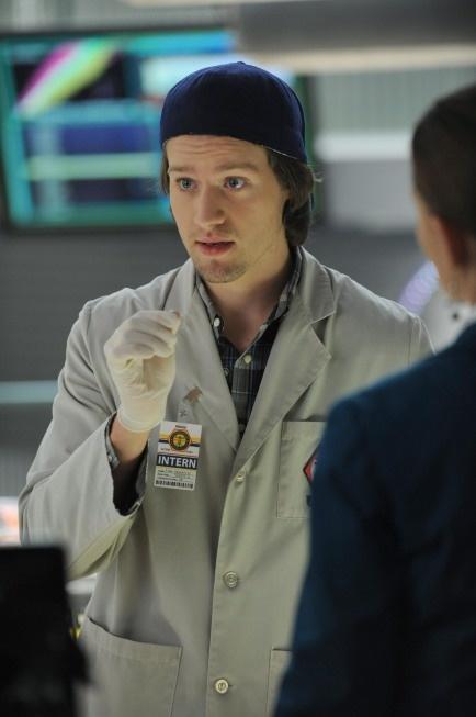 """Finn (Luke Kleintank) from """"The Bump in the Road"""" episode of BONES on FOX."""
