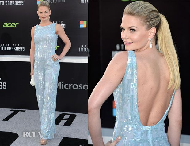 Jennifer Morrison In Editions by Georges Chakra – 'Star Trek Into Darkness' LA Premiere