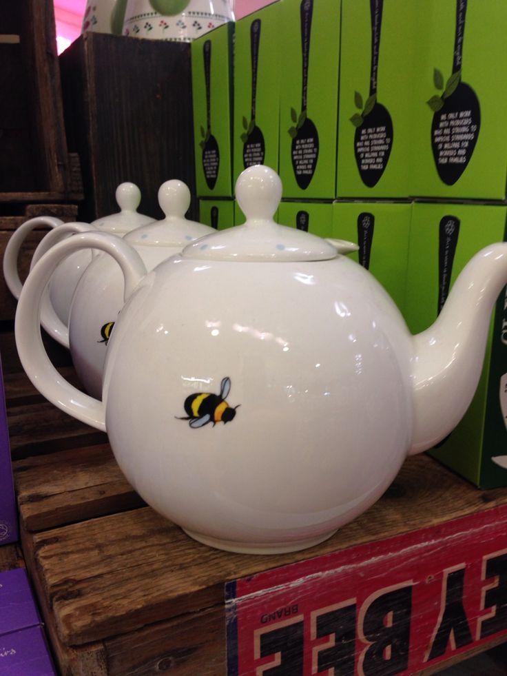 Honey bee tea pot from Avoca
