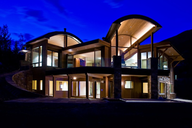Luxury bronze clad windows and doors this aspen residence for Luxury home windows