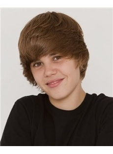 """Bwahahahha! I searched """"short brown wigs"""" and pintrest found me the biebs lol!!!"""