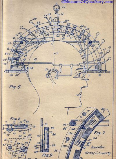 The Psycograph was patented in 1905 by Henry Lavery of Superior WI.