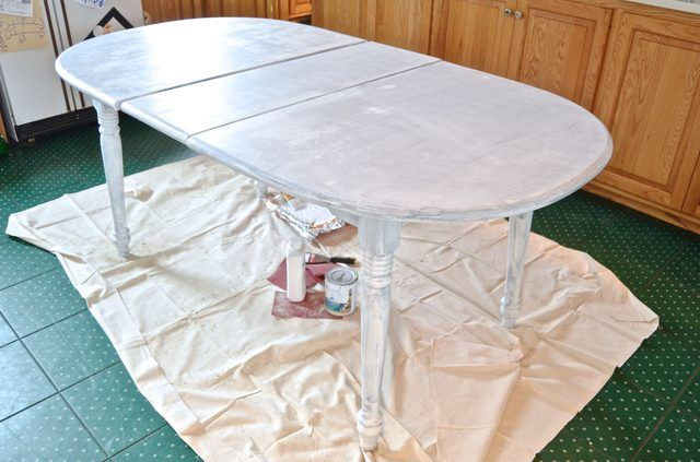 How to Paint a Cheap Kitchen Table to Look Brand New | eHow