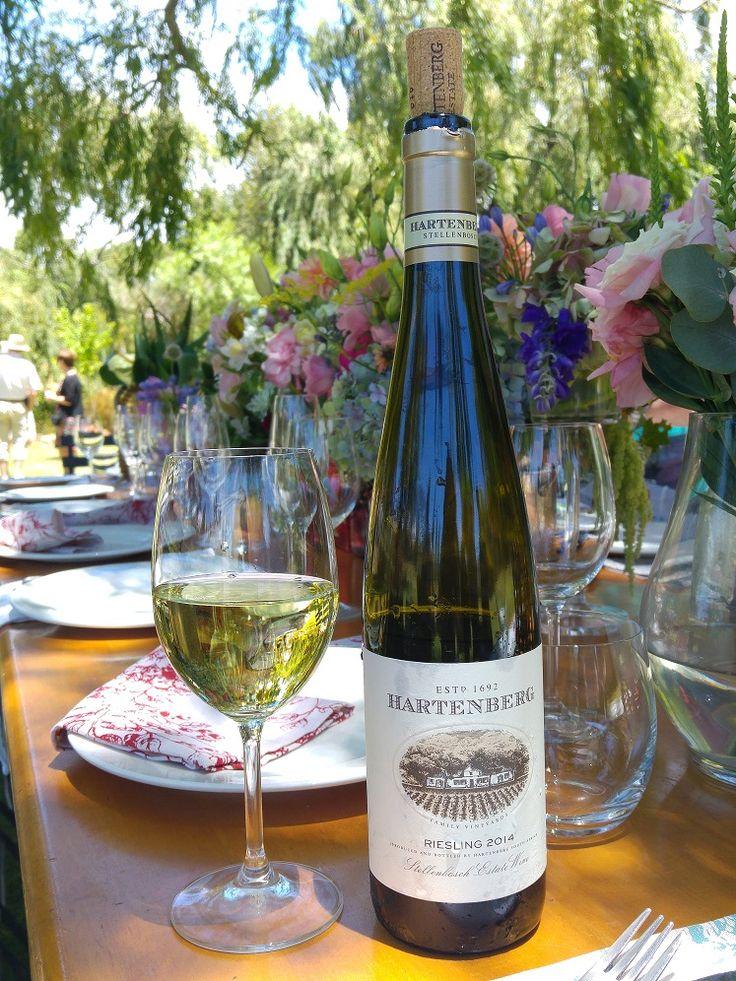 Riesling Wine at Hartenberg Wine Estate