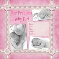 Baby Girl Scrapbook Ideas | oh baby girl collection girl to go kit 98384 $ 7 99 larkspur 98394 ...