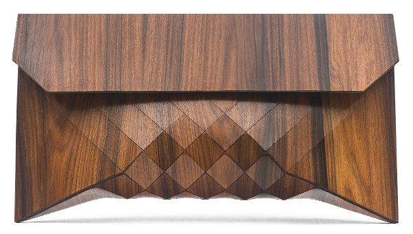 fascinating new clutches made form real wood are an interesting texture and are the perfect match with the fraublau faux bois collection at curatedisrael.com http://www.curatedisrael.com/fraublau/faux-bois-maple-oak-and-mahogany-dress.html