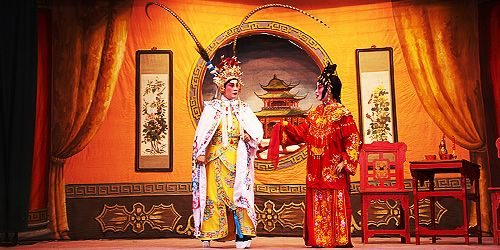 One of the major styles of Chinese opera, Cantonese opera is a highly respected and much-loved art form that blends Chinese legend, music and drama into a vibrant performance style that's rich with symbolic meaning. Popular with audiences in southern China and parts of Southeast Asia, it was included as part of UNESCO's Representative List of the Intangible Cultural Heritage of Humanity in 2009.