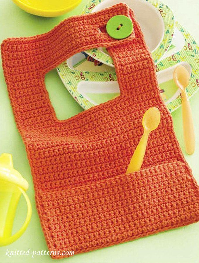 Thread Crochet Baby Bib Pattern : 15+ best ideas about Crochet Baby Bibs on Pinterest ...