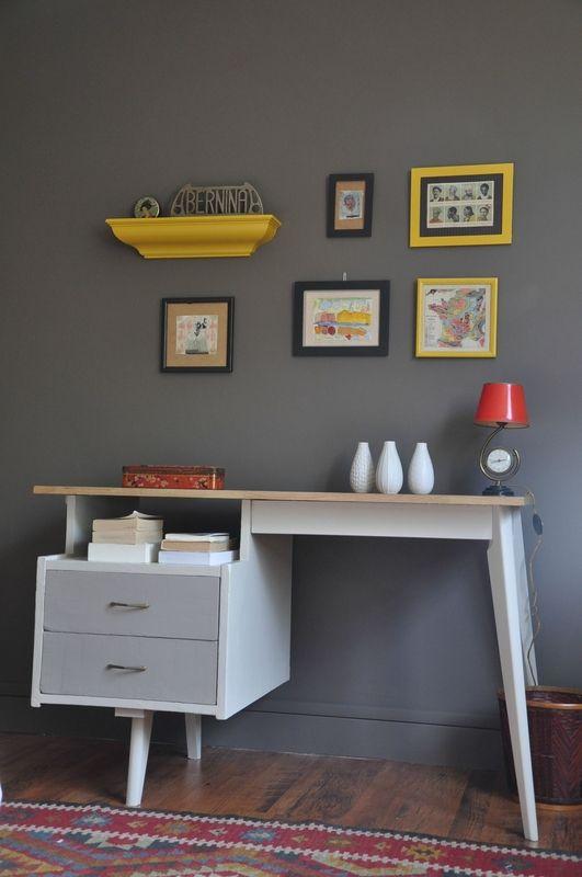Belle restauration d'un bureau vintage