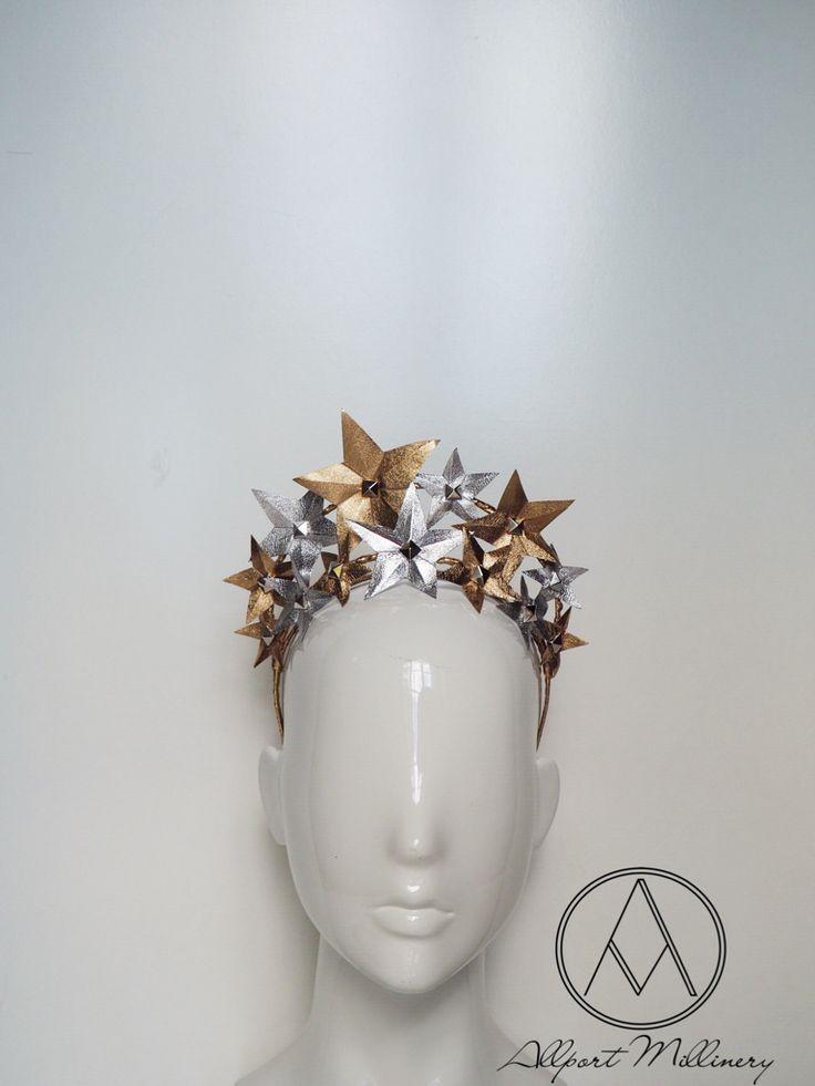 Stargazer - Gold/Silver / Allport Millinery