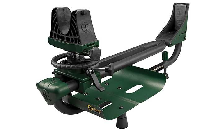 Caldwell Shooting Supplies has made a bit of an impact on the shooting industry with its line of Lead Sled shooting rests. There are various models of Lead Sled, but in general, they all work in a similar manner: a frame holds the rifle while shooter provided weight (often bags of lead shot) helps keep …   Read More …
