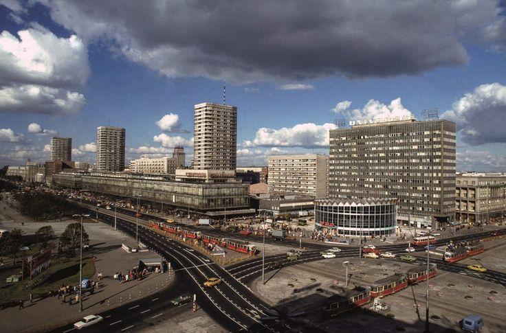 Centrum (Ściana Wschodnia) in Warsaw, Poland (late 70')