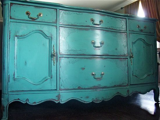 shabby chic furniture (DIY paint