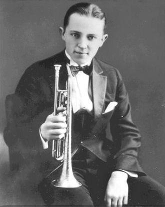 baroquenoise:  Bix Beiderbecke (1903-1931) was one of the great jazz musicians of the 1920's…he was also a child of Prohibition liquor. His hard drinking and beautiful tone on the cornet made him a legend among musicians during his life. There is a very loose portrayal of Bix, played by Richard Gere, in the movie The Cotton Clubwhere Gere actually sings and plays cornet.