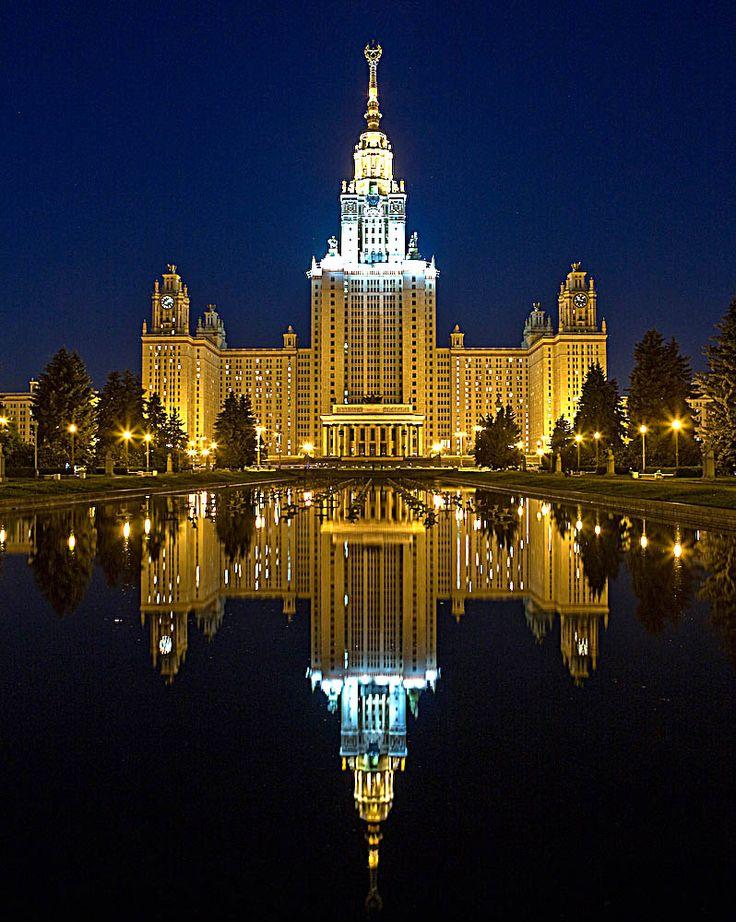 Красивые здания москвы фото с названиями