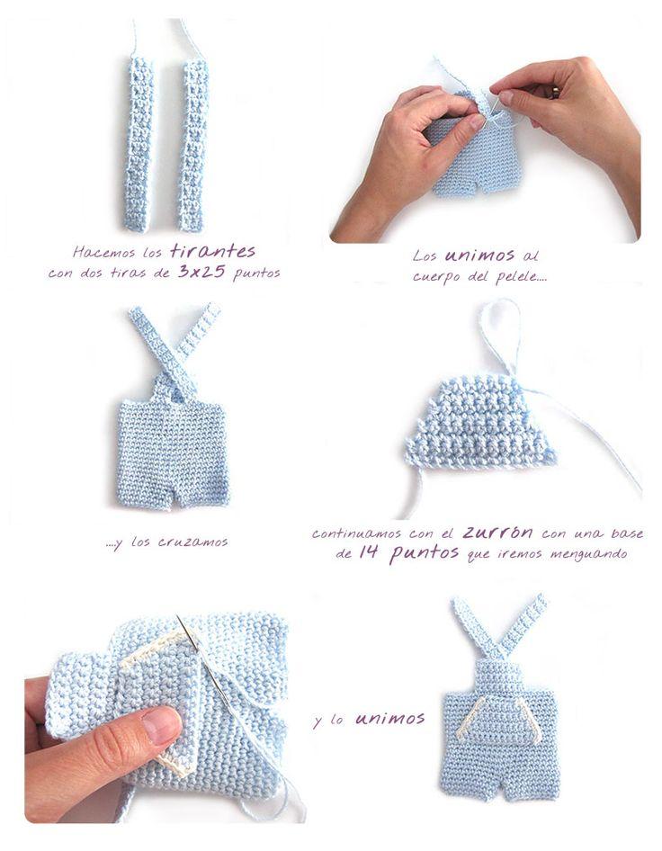 como hacer un conejito amigurumi versión niño | Creativa Atelier