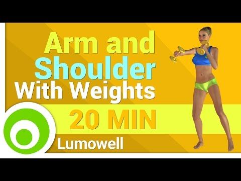 Arm and Shoulder: Upper Body Strength Workout With Dumbbells - YouTube