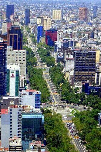 Paseo de la Reforma,Mëxico ,Distrito Federal.