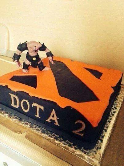Awesome Dota 2 Cake :)