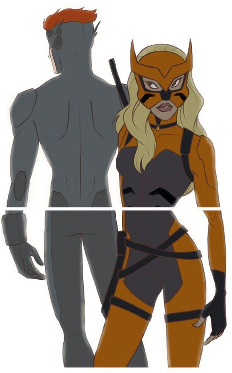 artemis and wally west young justice dc comics   Wally ...