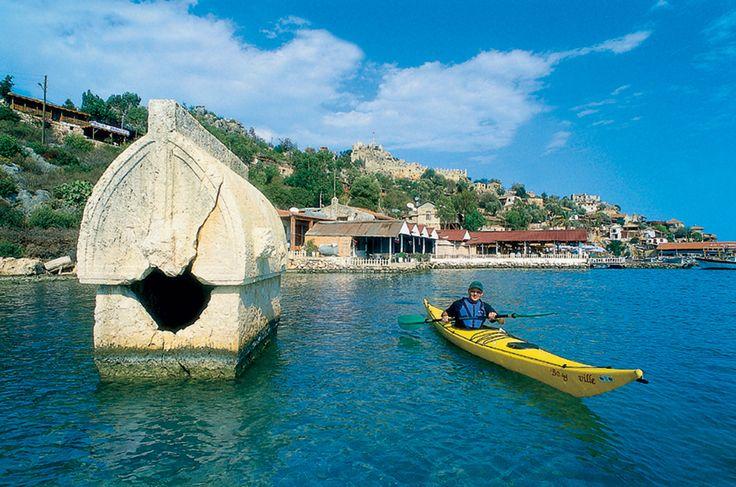 kayaking in Ucagiz | by Durukos Yachting