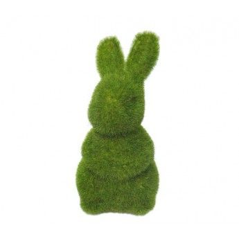Mossy Rabbit (standing) / for the baby room.