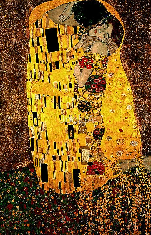 Gustav Klimt The Kiss