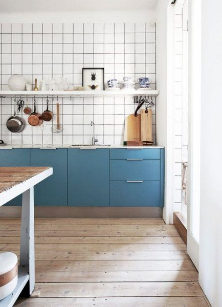 <p>White kitchen tile is an all-purpose backdrop for showcasing bold paint colors--we'll show you ten of our favorites.</p>