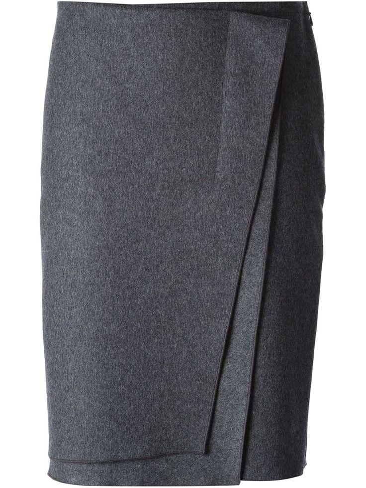 Nina Ricci Layered Wrap Skirt - Davinci - Farfetch.com