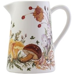 Chanterelle Pitcher by Gien France
