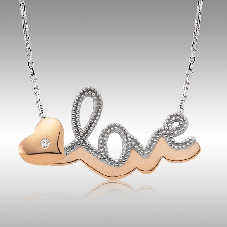 Sevgililer Günü Özel - Love Pırlanta Kolye - Tektaş Yüzük hediyeli :: UcuzzShop