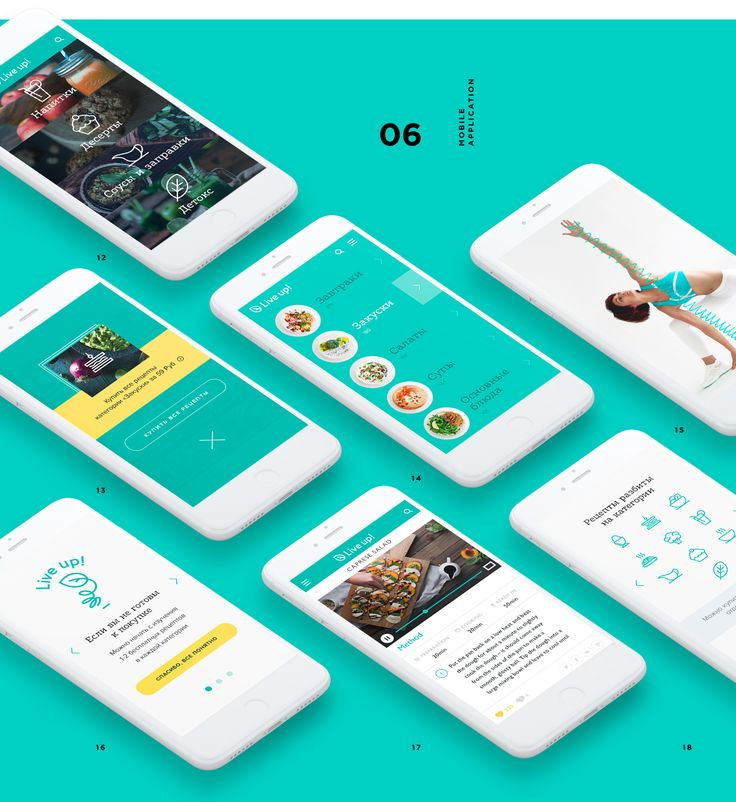 Live Up! on Behance